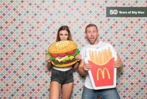 50. výročí Big Mac