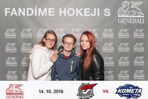Extraliga Piráti Chomutov – HC Kometa Brno