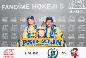 Extraliga PSG Zlín – HC Olomouc