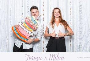Svatba Tereza a Milan