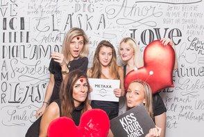 Valentýská party Metaxa